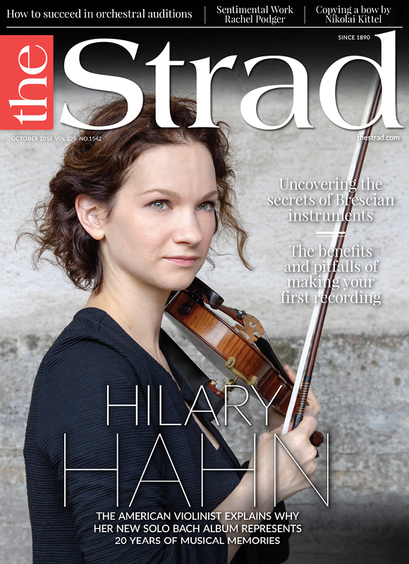 2018_10.October Hilary Hahn cover
