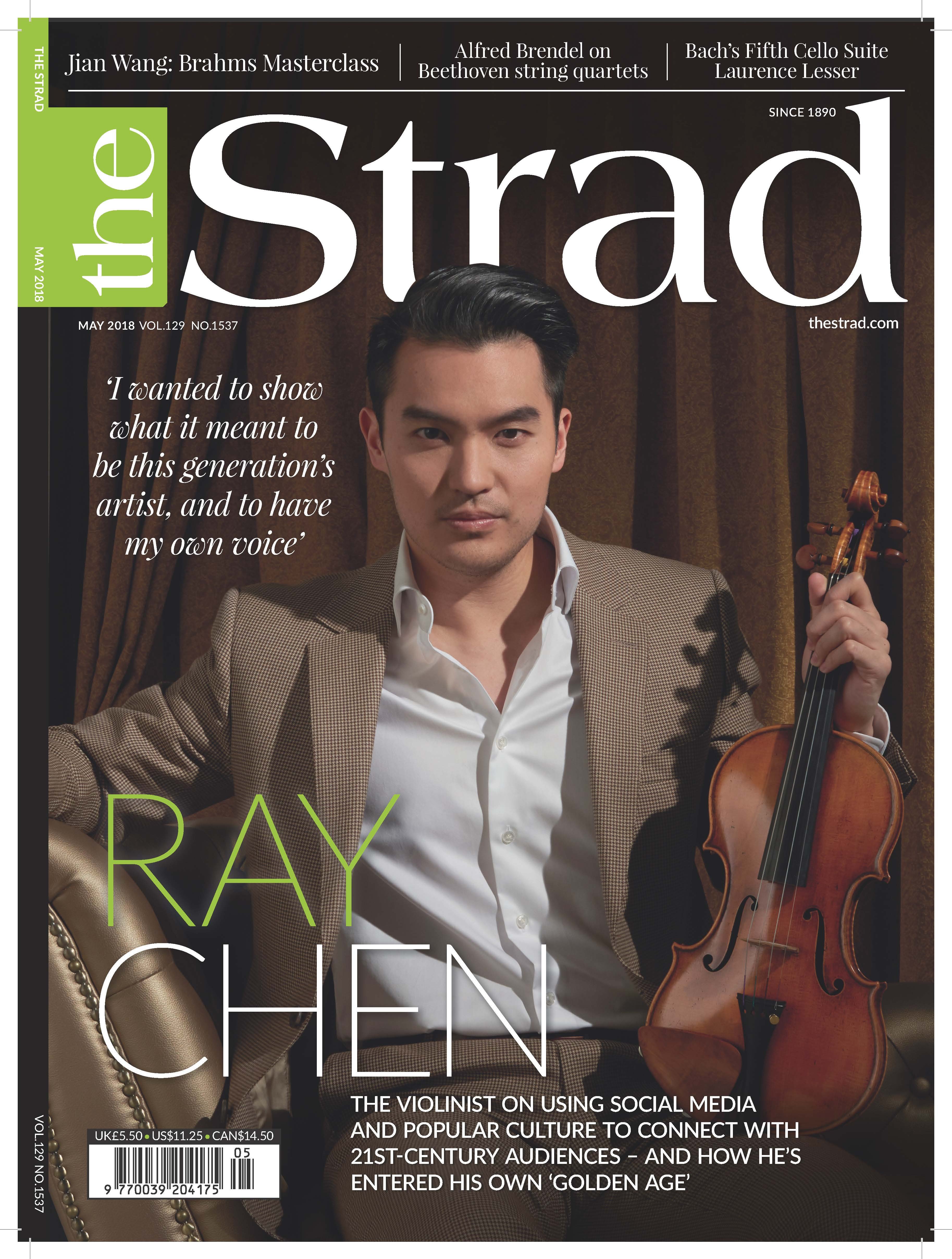 2018_5.May_Ray Chen cover